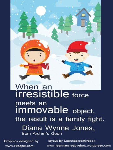 Dianna Wynne Jones Quote Force Object Famliy