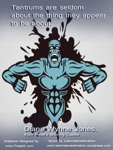 Dianna Wynne Jones Quote Tantrums