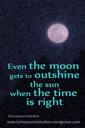 The Moon even Satellites