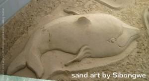 sandart dolphin sibongwe