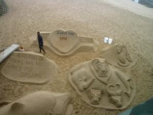 Sibongwes sand art gallery