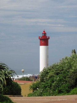 Umhlanga lighthouse closer
