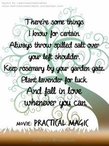 Practical Magic love