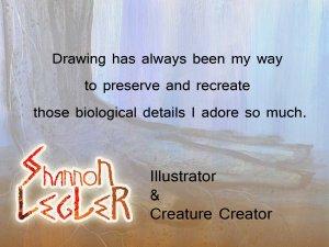 Shannon Legler Illustrator quote drawing details love