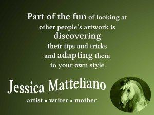 Jessica Matteliano quote part of fun