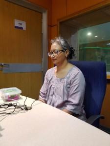 grounding before tarot read Leena Naidoo