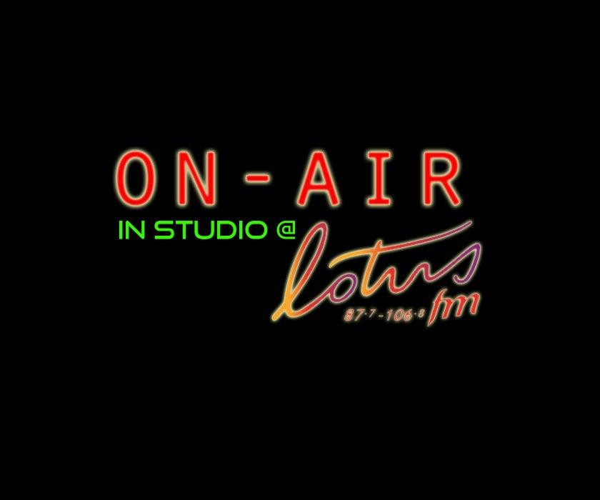 Leenna Naidoo Lotus FM studio visit