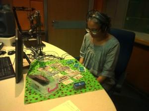 Leenna Naidoo reading on air