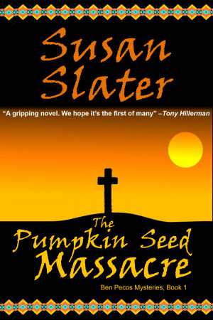 Book cover Susan Slater The Pumpkin Seed Massacre