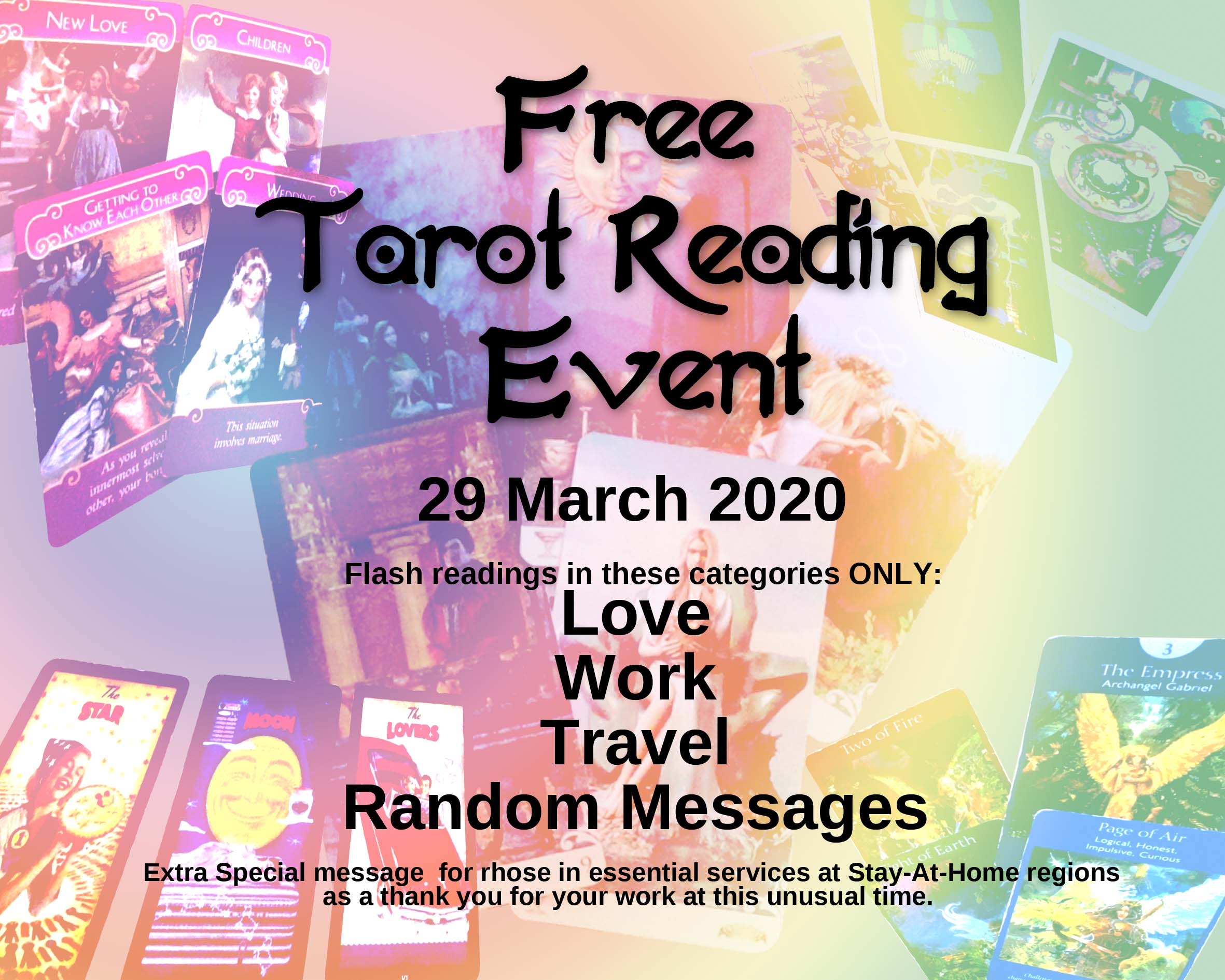 FREE Tarot Reading For You